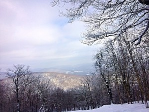 why we love NY! The Beautiful Catskill Mountains of course #iSKiNY